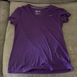 V-neck Nike Dri-Fit Shirt